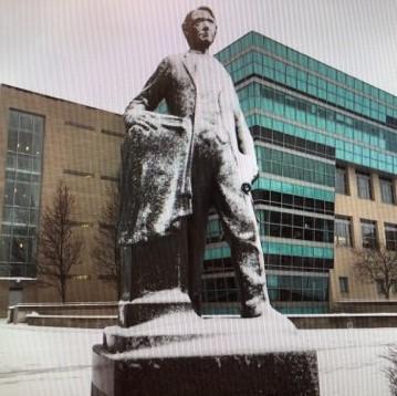 Ferris statue