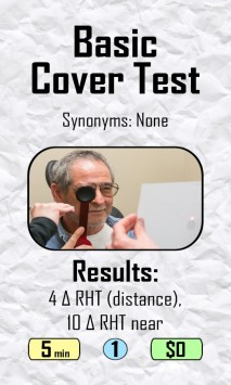 Play card from The Optometry Game