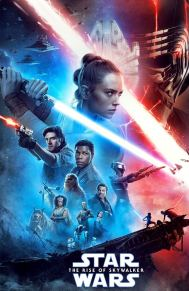 Movie poster for Star Wars the Rise of Skywalker